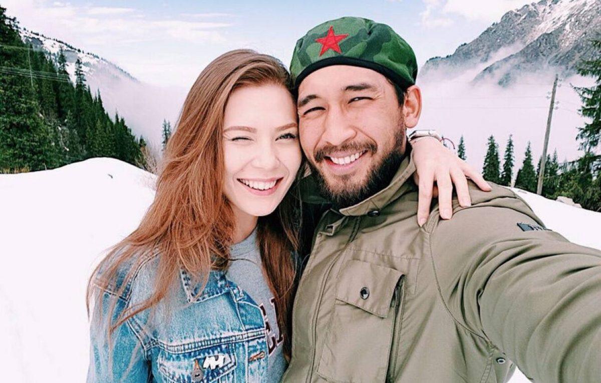 Жандос Айбасов женился на русской красавице